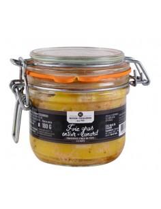 Bocal foie gras de canard...