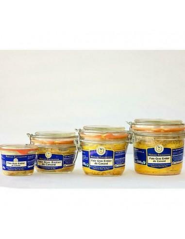 Bocal foie gras de canard entier