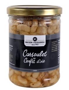 Bocal Cassoulet au confit...
