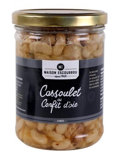 Bocal Cassoulet au confit d'oie